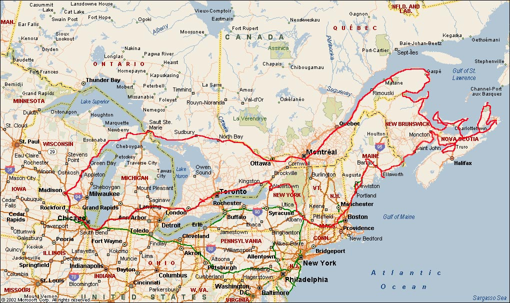 Maritime Provinces of Canada